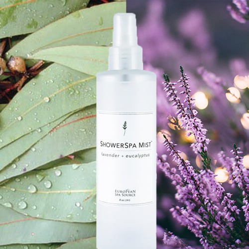 Calming Lavender and Eucalyptus ShowerSpa Mist™