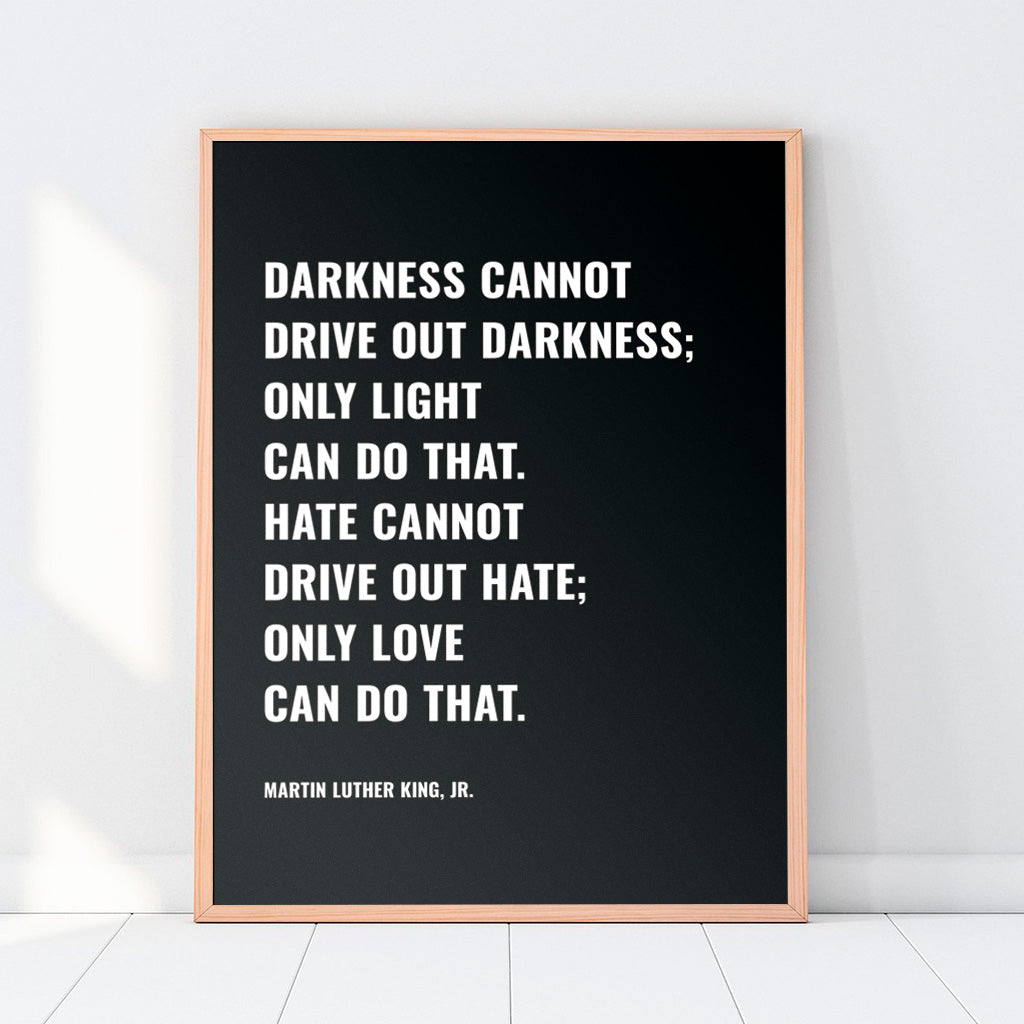 MLK Jr. Quote Print