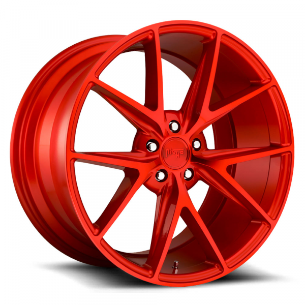 Niche Wheels Misano Candy Red
