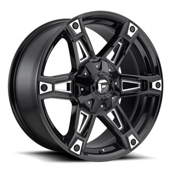 Fuel Off Road Wheels DAKAR Gloss Black Milled