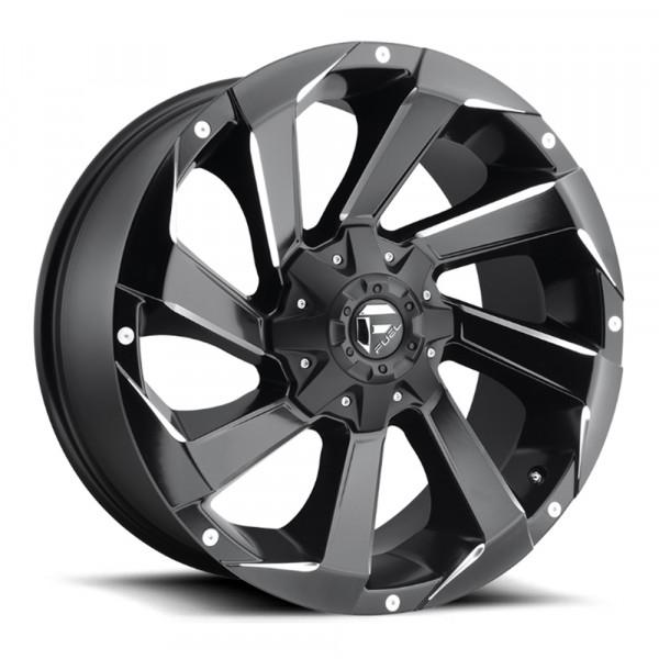 Fuel Off Road Wheels RAZOR Matte Black Milled