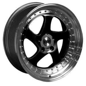 ESR Wheels SR02 Gloss Black Machine Lip
