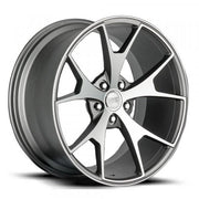 Concept One Wheels CSM5 Matte Gunmetal Machined
