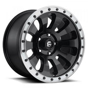 Fuel Off Road Wheels TACTIC Matte Black Machined