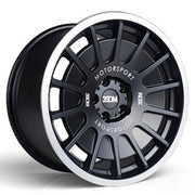 3SDM Wheels 0.66 Matte Black Mirror Polished Lip