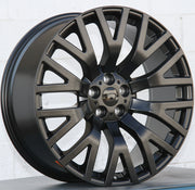 Land Rover Wheels 322 22x10 5x120 Matte Black fit Range Rover Sport SVR HSE Autobiography Discovery