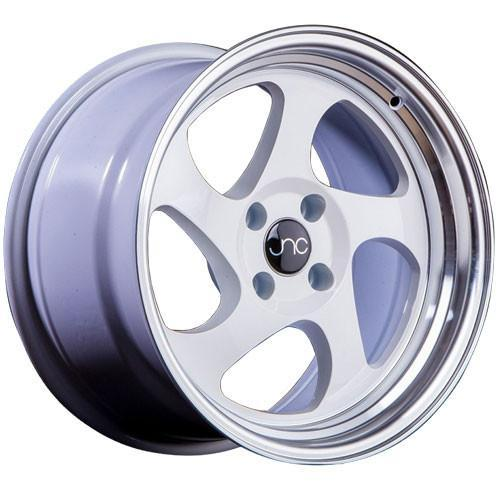 JNC Wheels JNC034 White Machined Lip