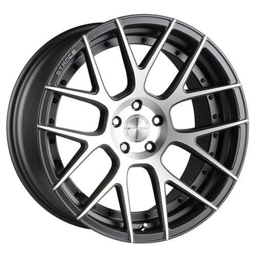 Stance Wheels SC8 Slate Gray Machine