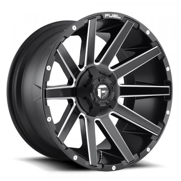 Fuel Off Road Wheels CONTRA Matte Black Milled