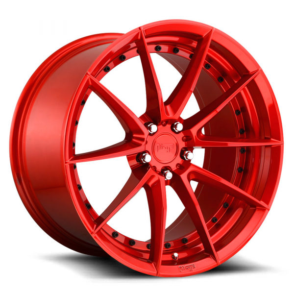 Niche Wheels Sector Candy Red