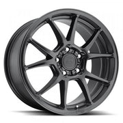 Niche Wheels Messina Satin Black