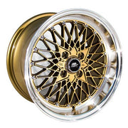 MST Wheels MT16 Bronze Machined Lip
