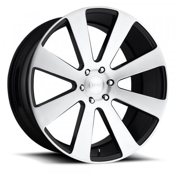 Dub Wheels 8Ball Brushed Gloss Black