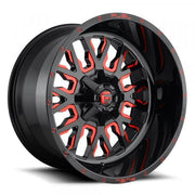Fuel Off Road Wheels STROKE Gloss Milled Red