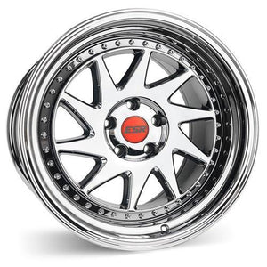 ESR Wheels SR09 Vacuum Black Chrome