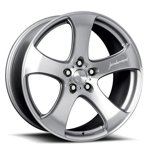 MRR Wheels HR2 Silver Machined Face