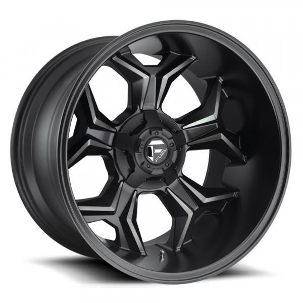 Fuel Off Road Wheels AVENGER Matte Black DDT