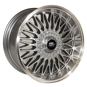 MST Wheels MT14 Gunmetal Machined Lip