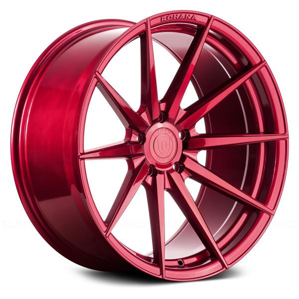 Rohana Wheels RFX1 Gloss Red