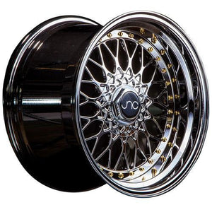 JNC Wheels JNC004 Platinum Gold Rivets