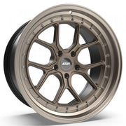 ESR Wheels CS2 Matte Bronze Machine Lip