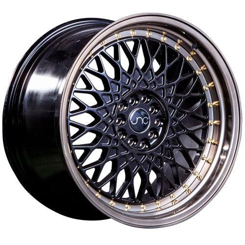 JNC Wheels JNC031 Matte Black Machined Bronze Gold