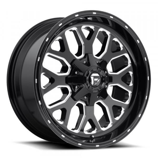 Fuel Off Road Wheels TITAN Black Milled