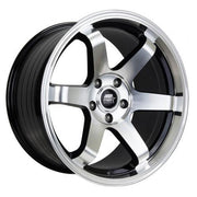 MST Wheels MT01 Black Machined Face