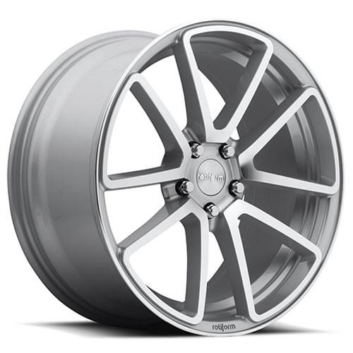 Rotiform Wheels SPF Silver Machined