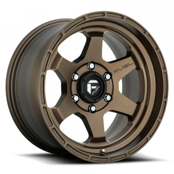 Fuel Off Road Wheels SHOK Matte Bronze