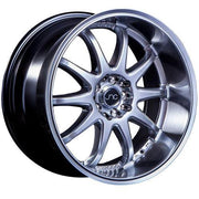 JNC Wheels JNC019 Silver Machined Lip