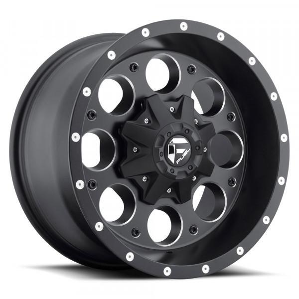 Fuel Off Road Wheels REVOLVER Black Milled