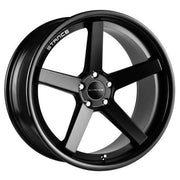 Stance Wheels SC5 Matte Black Gloss Black Lip