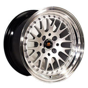 MST Wheels MT10 Silver Machined Face