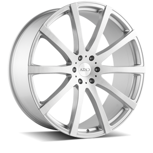Azad Wheels AZ1970 Brushed Silver