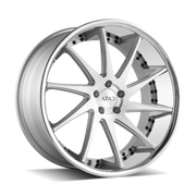 Azad Wheels AZ23 Brushed Stainless Chrome Lip