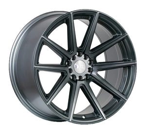 F1R Wheels F27 Gunmetal