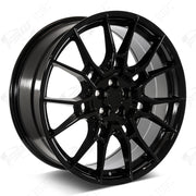 Toyota Wheels F226 20x8.5 5x114.3 Gloss Black fit Avalon Camry RAV4 C-HR