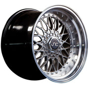 JNC Wheels JNC004 Hyper Black Machined Lip