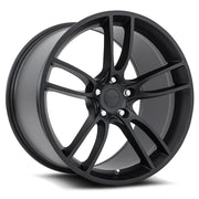 Ford Wheels M600 19x10/19x11 5x114.3 Matte Black fit Mustang V6, V8, Shelby GT350 GT500