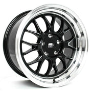 MST Wheels MT43 Black Machined