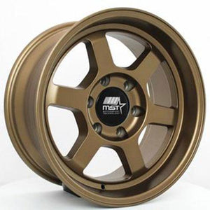 MST Wheels Time Attack Truck Matte Bronze