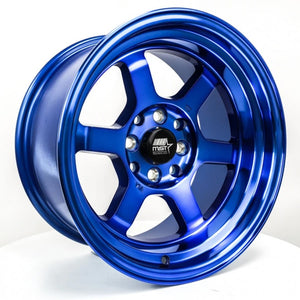 MST Wheels Time Attack Sonic Blue