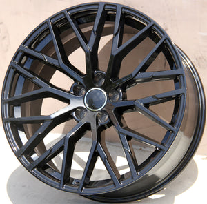 Audi Wheels 1349 22x9.5 5x130 Black fit Q7 VW Touareg