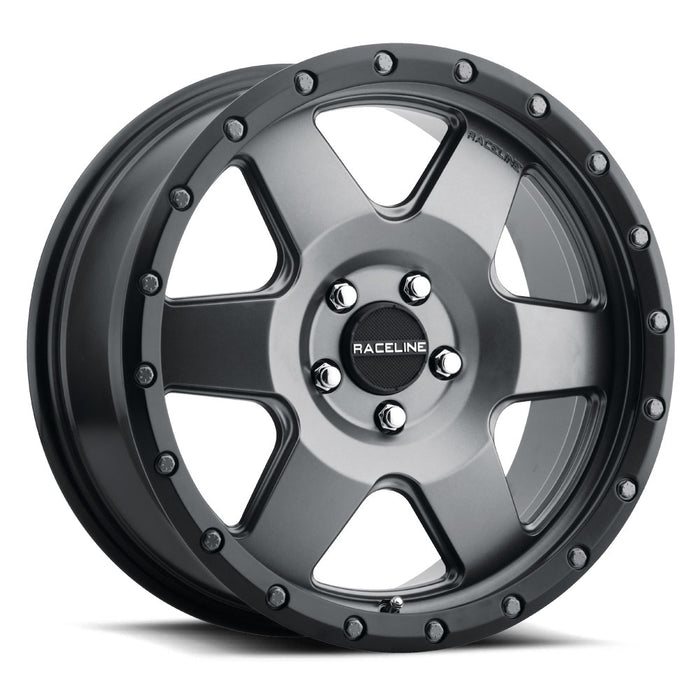 Raceline Wheels Boost Gunmetal