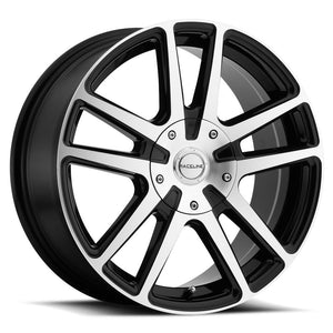 Raceline Wheels Encore Black Machined Face