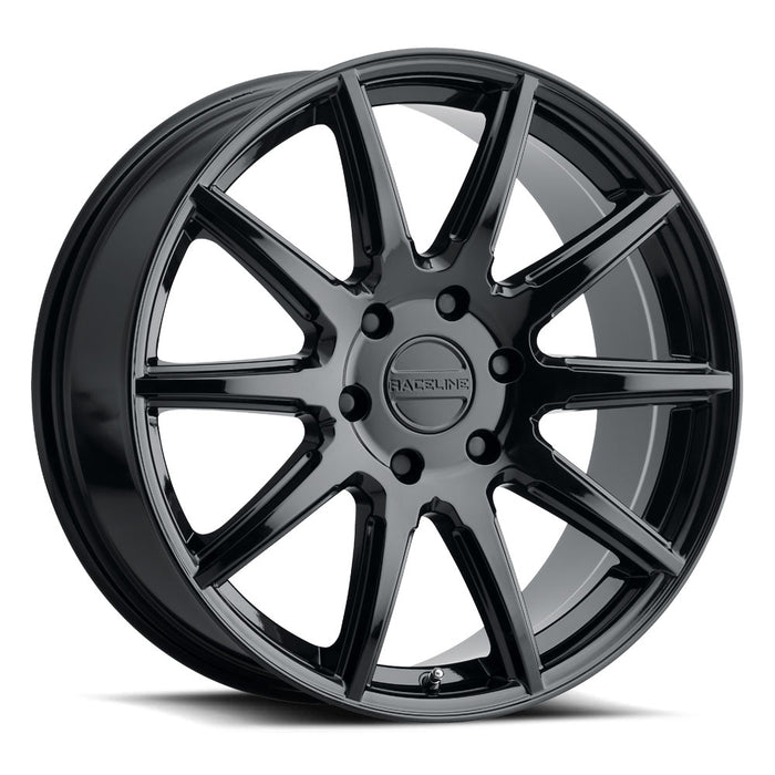 Raceline Wheels Spike Gloss Black
