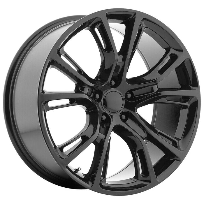 Chrysler Wheels V1171 22x9 5X127 Gloss Black fit Town & Country Pacifica SRT Style