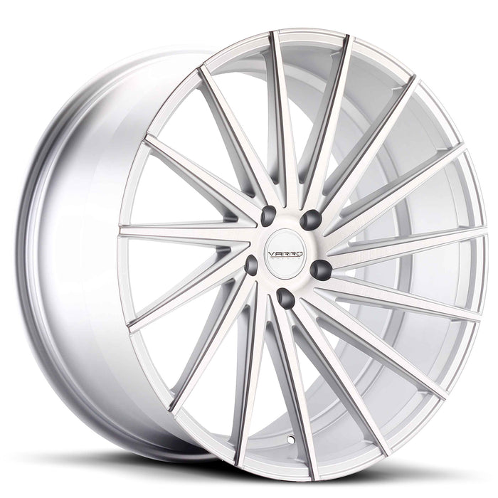Varro Wheels VD15 Matte Silver Brushed Face