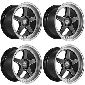 Whistler Wheels KR2 Gloss Black Machined Lip